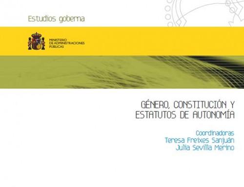 Género, Constitución y Estatutos de Autonomía