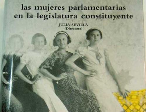 Las mujeres parlamentarias en la legislatura constituyente
