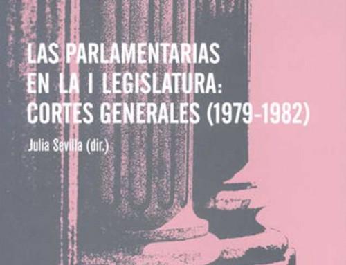 Parlamentarias en la I legislatura: Cortes Generales (1979-1982)