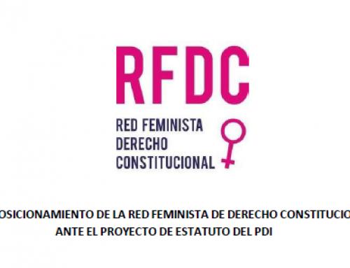 Posicionamiento de la RFDC ante el Proyecto de Estatuto del PDI